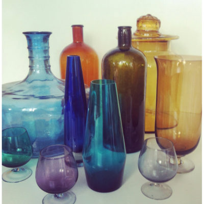 Petrol & Porcelain Eyemazing Glass €120