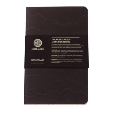Paper on The Rocks Rockbook Softcover Slate €11,95