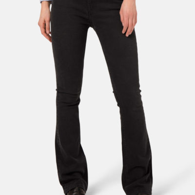 Mud Jeans Flared Hazen – Stone Black €119.00