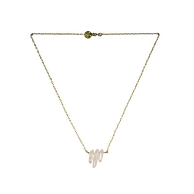 Nifty Rose Quartz – Gold €29