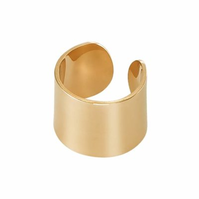 Dutch Basics Thick Ear Cuff – Gold Plated Silver €55