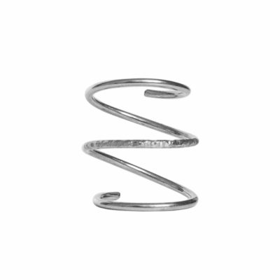 Dutch Basics The Silver Spiral Ring €89