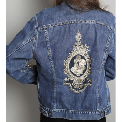 BLA CUSTOMIZED VINTAGE DENIM JACKET €99,95
