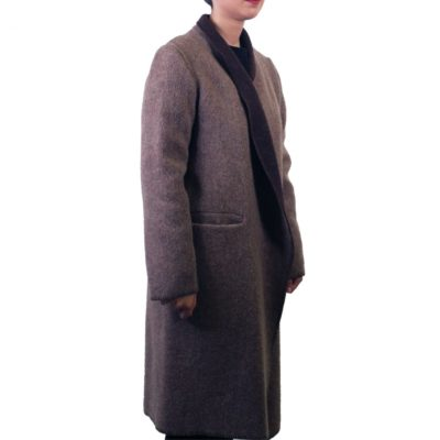 Wintervacht LONG BLANKET COAT | L €320